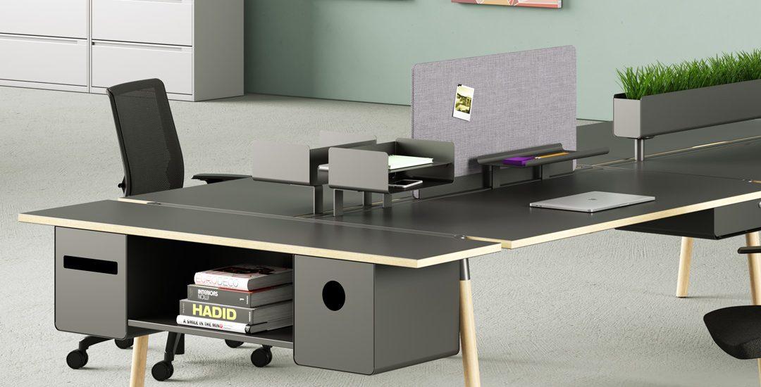 3D Desk Rendering