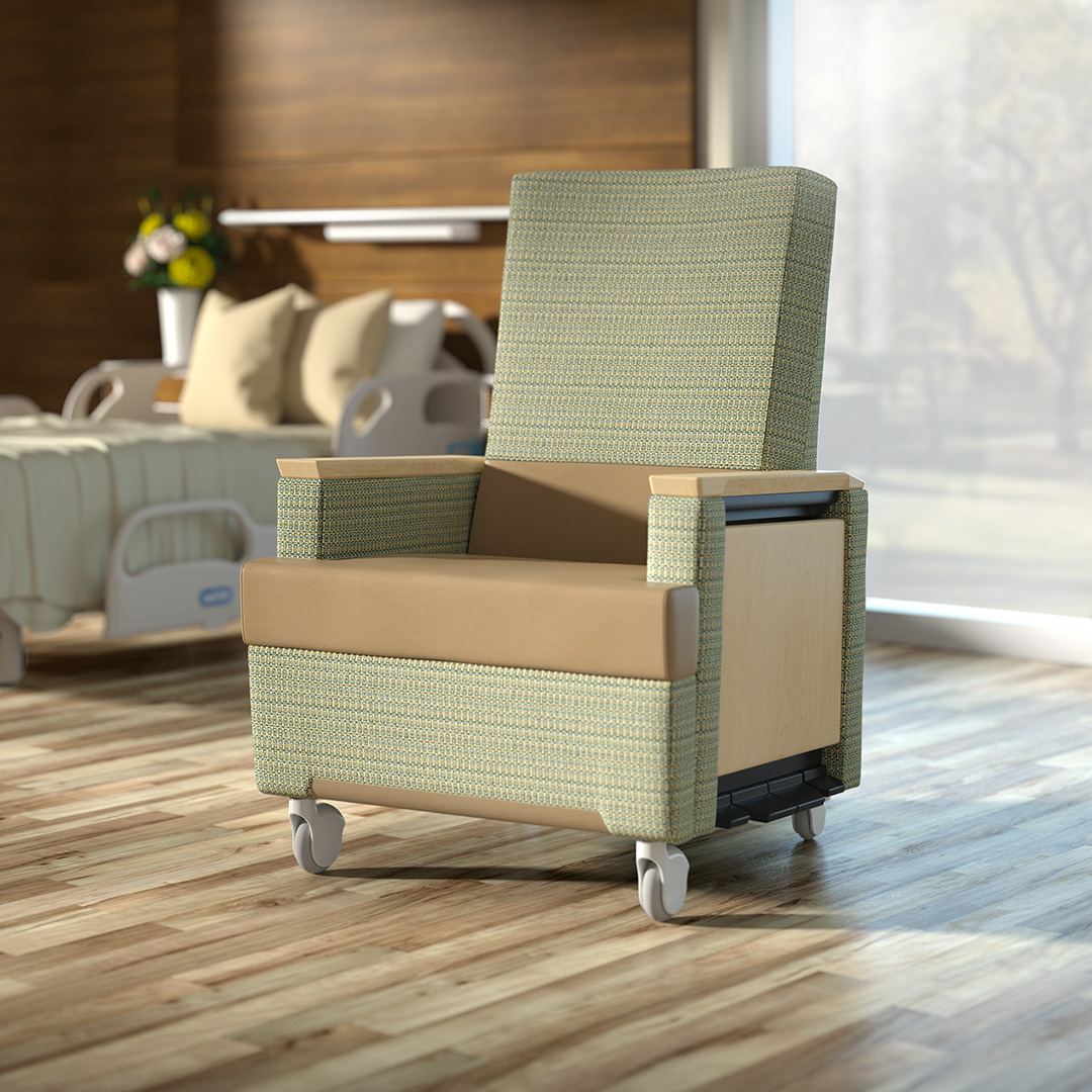 Hospital Chair 3D Animation