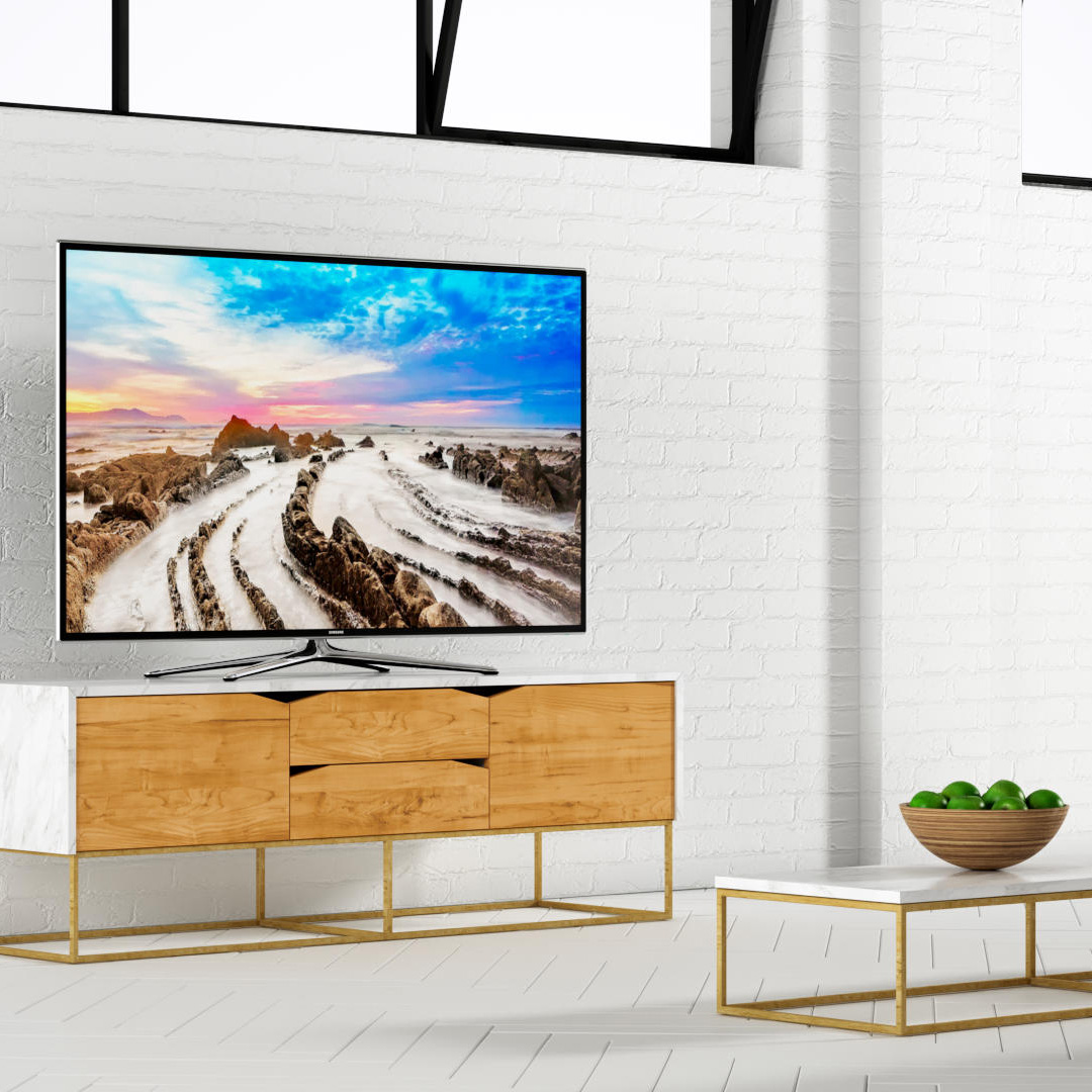 3D Rendering of Samsung TV