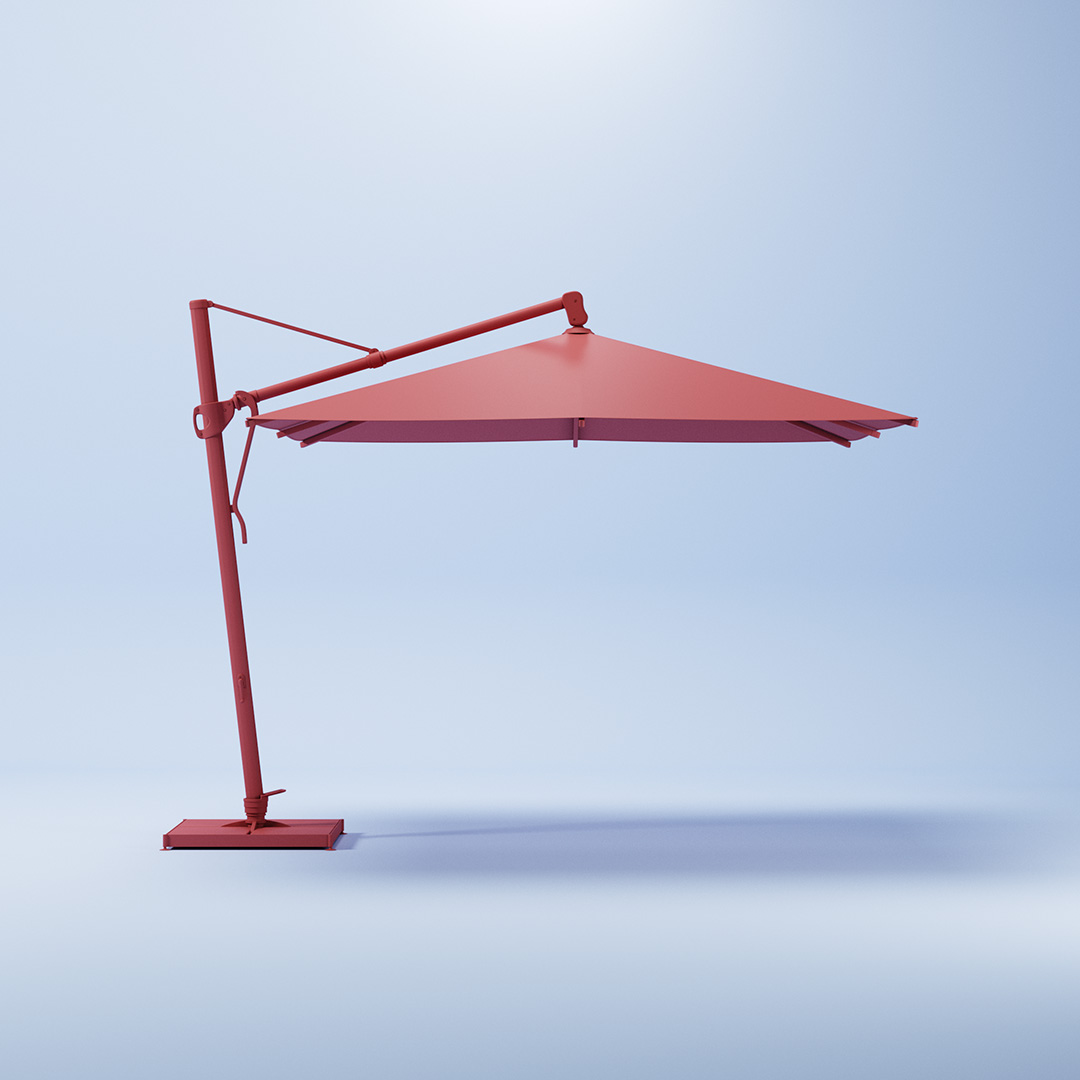 3D Animation of an Umbrella
