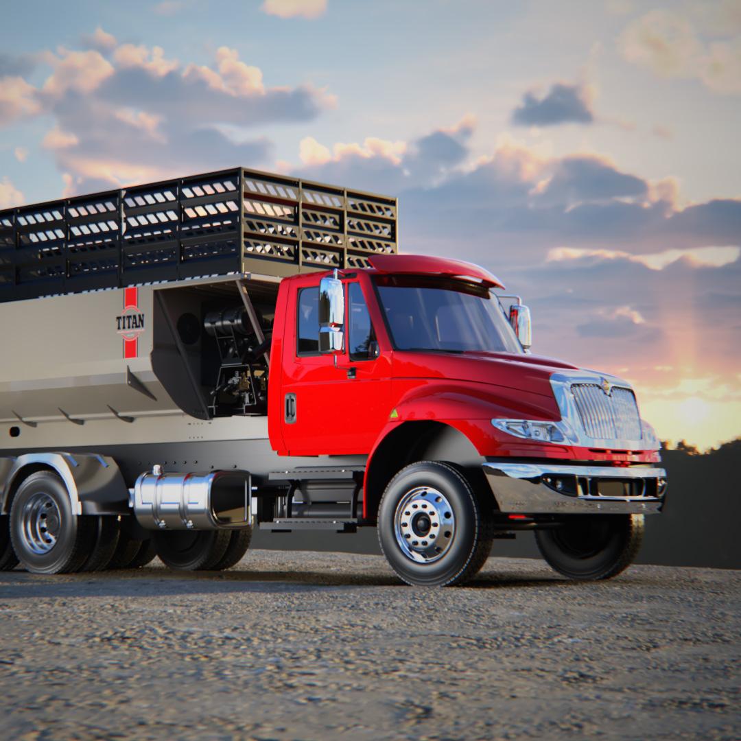 Titan Truck 3D Animation